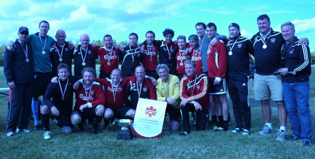 2012 Western Canadian Masters Champions – Westside FC