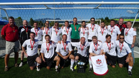 Westside FC wins its second O35 Western Candian Championship